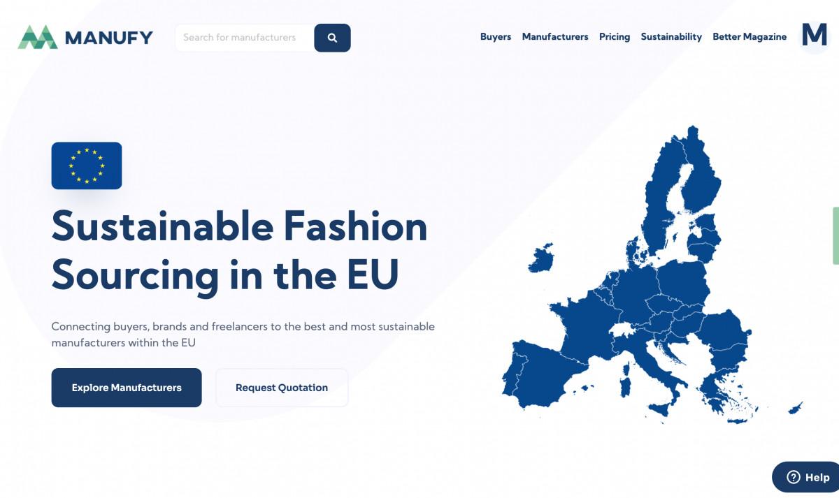 Europees duurzaam productieplatform Manufy opent haar deuren voor kledingmerken