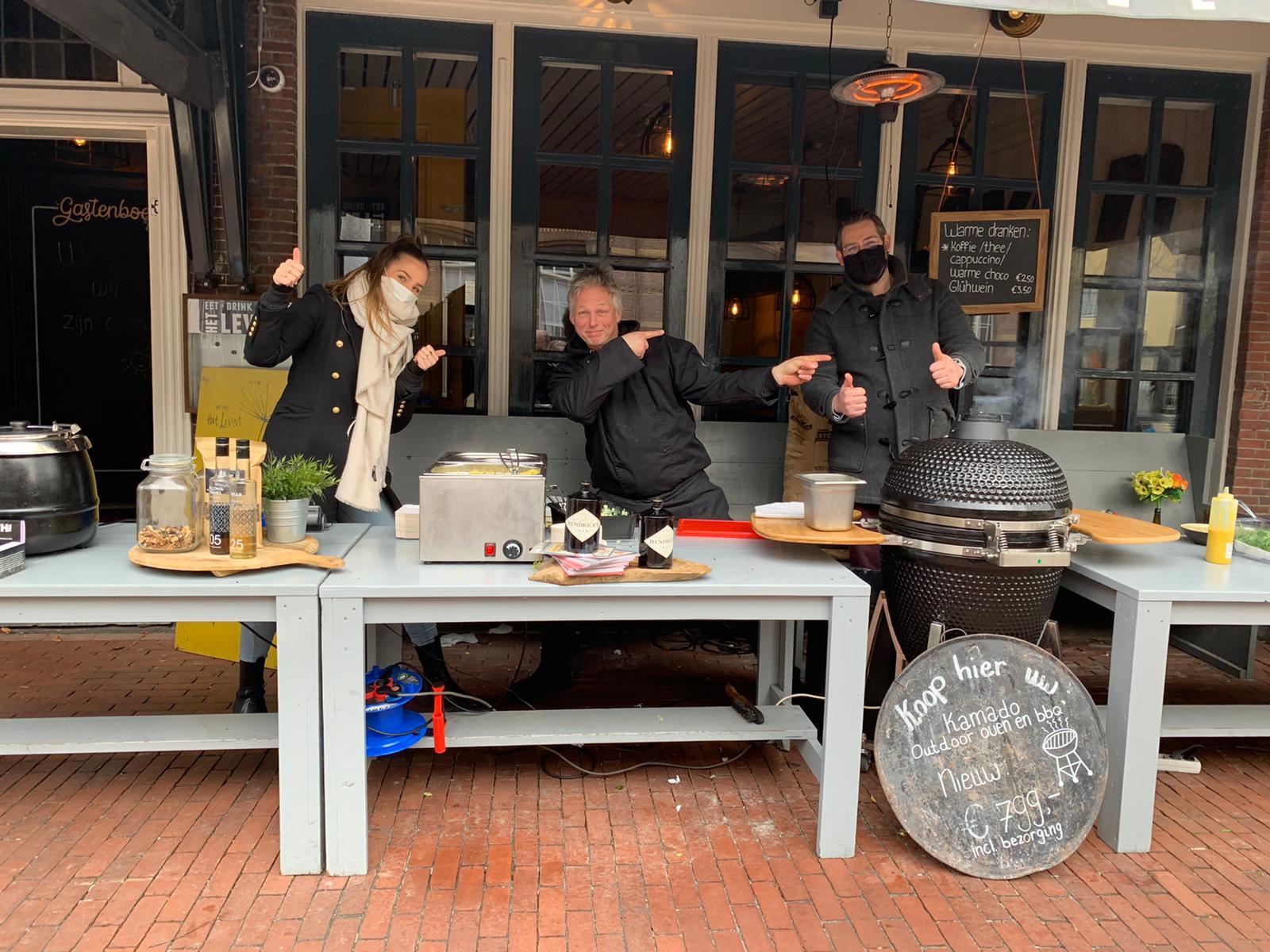 Culinair take away wandelen nu mogelijk in Scheveningen