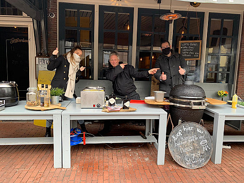 WijnSpijs - Culinair take away wandelen nu mogelijk in Scheveningen