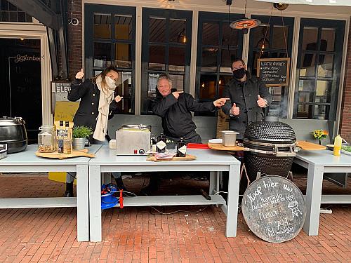 WijnSpijs - Culinair take away wandelen nu mogelijk in Amersfoort