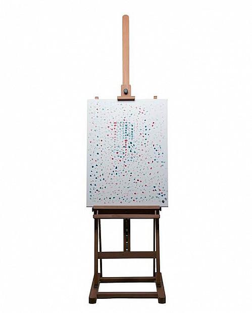 Pockies - Hef viert 420 met Wiet-schilderij