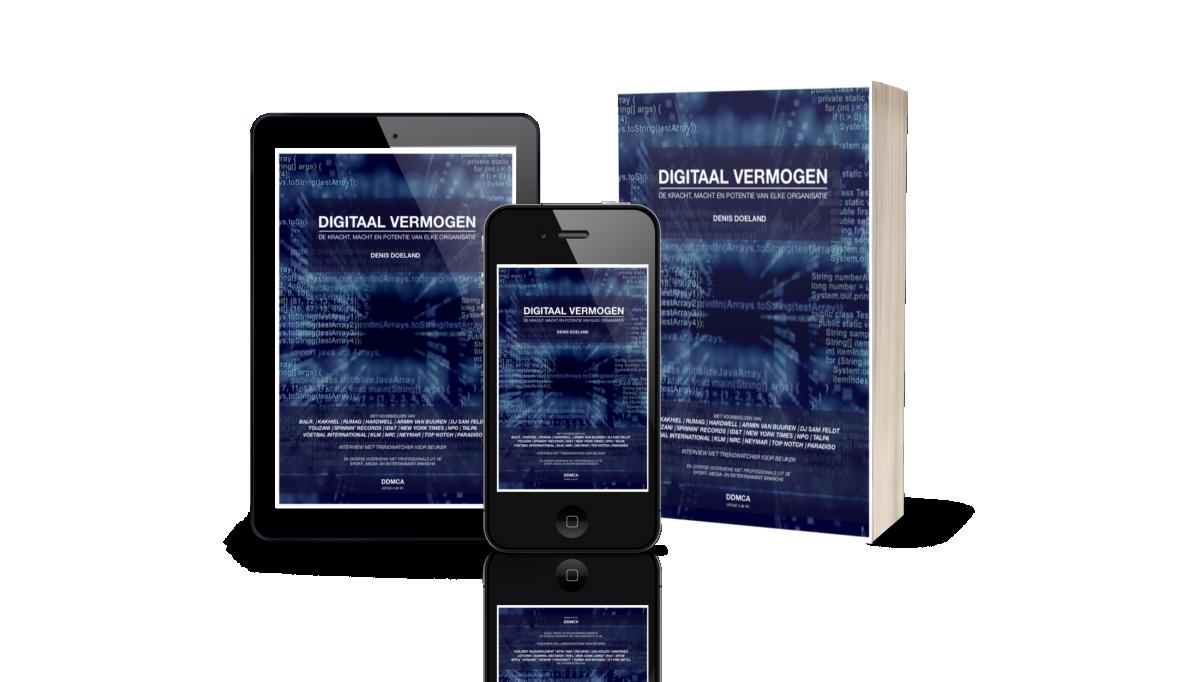'Digitaal Vermogen': een handleiding business hacking van  oud ID&T-er Denis Doeland