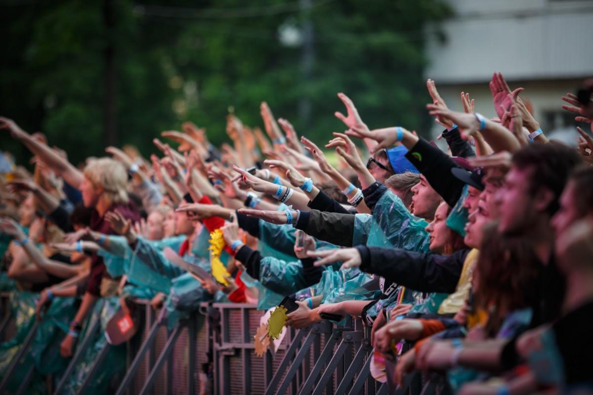 De festival- en muziekindustrie wordt relatie-economie